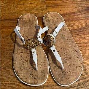 Michael Kors MK charm jelly sandal Sz 8